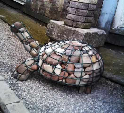 Габион-черепаха-сзади