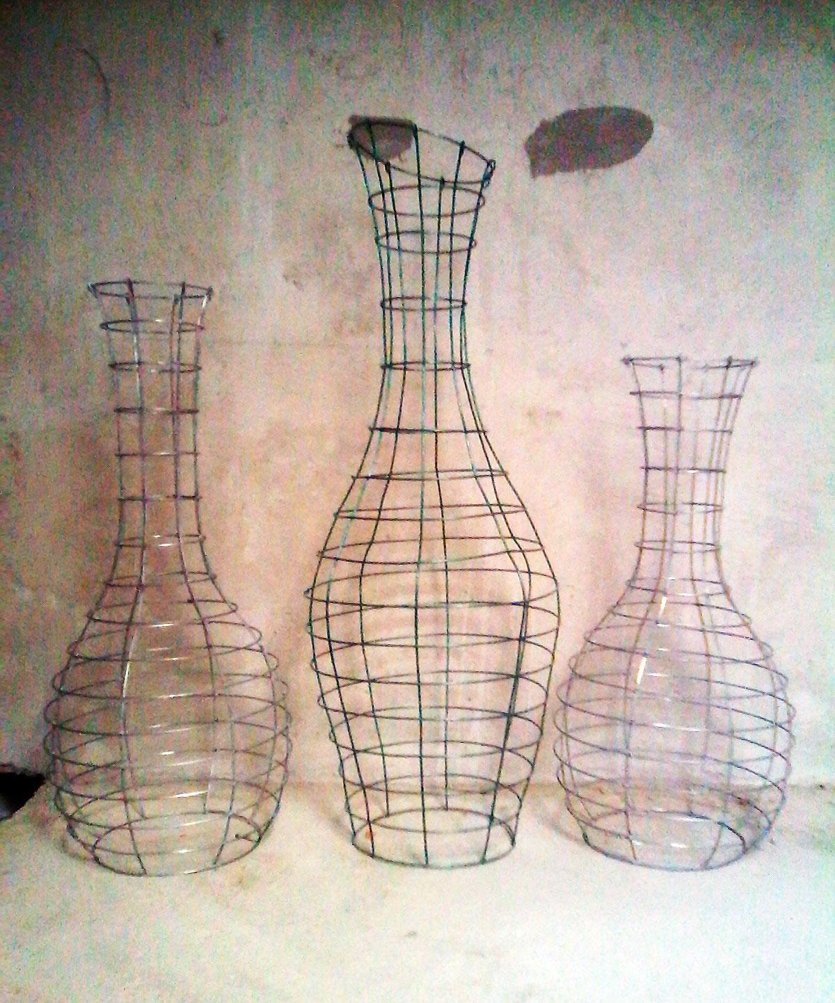 Габионы-вазы