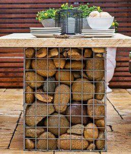 габион-садовая-мебель