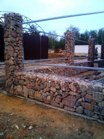 габион-забор